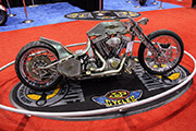 First Place 'Freestyle Motorcycle' Winner of the J&P Cycles Ultimate Custom Bike Show, Chicago, IL