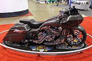 First Place 'Modified Harley Motorcycle' Winner of the J&P Cycles Ultimate Custom Bike Show, Chicago, IL