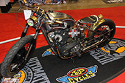 First Place 'Retro Modified' Winner of the J&P Cycles Ultimate Custom Bike Show, Chicago, IL