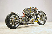 First Place 'Freestyle Motorcycle' Winner of the J&P Cycles Ultimate Custom Bike Show, Indianapolis, IN