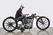 First Place 'Freestyle Motorcycle' Winner of the J&P Cycles Ultimate Custom Bike Show, Long Beach, California