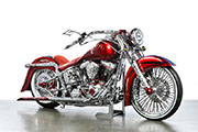 First Place 'Modified Harley Motorcycle' Winner of the J&P Cycles Ultimate Custom Bike Show, Long Beach, California