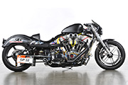 First Place 'Performance Custom Motorcycle' Winner of the J&P Cycles Ultimate Custom Bike Show, Long Beach, California