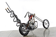 First Place 'Retro Modified Motorcycle' Winner of the J&P Cycles Ultimate Custom Bike Show, Long Beach, California