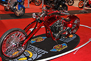 First Place 'Freestyle Motorcycle' Winner of the J&P Cycles Ultimate Custom Bike Show, Novi, Michigan