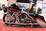 First Place 'Modified Harley Motorcycle' Winner of the J&P Cycles Ultimate Custom Bike Show, Novi, Michigan