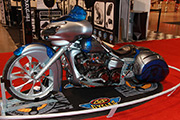 First Place 'Modified Street Motorcycle' Winner of the J&P Cycles Ultimate Custom Bike Show, Novi, Michigan