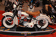 First Place 'Retro Modified' Winner of the J&P Cycles Ultimate Custom Bike Show, Novi, Michigan