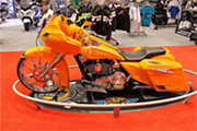 First Place 'Freestyle Motorcycle' Winner of the J&P Cycles Ultimate Custom Bike Show, Minneapolis, Minnesota