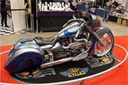 First Place 'Modified Street Motorcycle' Winner of the J&P Cycles Ultimate Custom Bike Show, Minneapolis, Minnesota