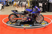 First Place 'Performance Custom Motorcycle' Winner of the J&P Cycles Ultimate Custom Bike Show, Minneapolis, Minnesota