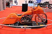 First Place 'Freestyle Motorcycle' Winner of the J&P Cycles Ultimate Custom Bike Show, Charlotte, NC
