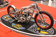 First Place 'Retro Modified' Winner of the J&P Cycles Ultimate Custom Bike Show, Charlotte, NC