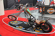 First Place 'Freestyle Motorcycle' Winner of the J&P Cycles Ultimate Custom Bike Show, New York, New York