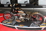 First Place 'Modified Harley Motorcycle' Winner of the J&P Cycles Ultimate Custom Bike Show, New York, New York