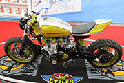 First Place 'Performance Custom Motorcycle' Winner of the J&P Cycles Ultimate Custom Bike Show, New York, New York