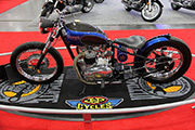 First Place 'Retro Modified' Winner of the J&P Cycles Ultimate Custom Bike Show, New York, New York