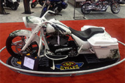 First Place 'Modified Harley Motorcycle' Winner of the J&P Cycles Ultimate Custom Bike Show, Cleveland, Ohio