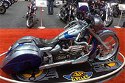 First Place 'Modified Street Motorcycle' Winner of the J&P Cycles Ultimate Custom Bike Show, Cleveland, Ohio