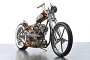 First Place 'Freestyle Motorcycle' Winner of the J&P Cycles Ultimate Custom Bike Show, San Mateo, California