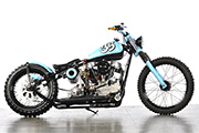 First Place 'Retro Modified Motorcycle' Winner of the J&P Cycles Ultimate Custom Bike Show, San Mateo, California
