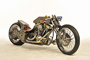 First Place 'Freestyle Motorcycle' Winner of the J&P Cycles Ultimate Custom Bike Show, Dallas, Texas
