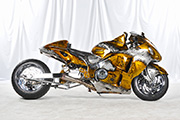 First Place 'Performance Custom Motorcycle' Winner of the J&P Cycles Ultimate Custom Bike Show, Dallas, Texas