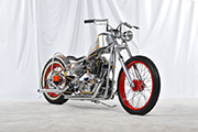 First Place 'Retro Modified Motorcycle' Winner of the J&P Cycles Ultimate Custom Bike Show, Dallas, Texas