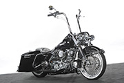 First Place 'Modified Harley Motorcycle' Winner of the J&P Cycles Ultimate Custom Bike Show, Seattle, Washington