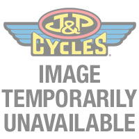 Motor City Cycle Flat Clear Lenses with Skull Graphic for Rear
