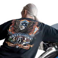Easyriders Long-Sleeve Strength and Honor T-shirt