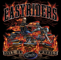 Easyriders Hell On Wheels Short-Sleeve Tee