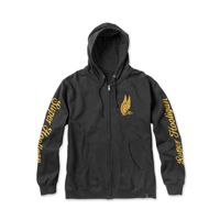 Roland Sands Design Men's Super Hooligan Black Zip Hoodie