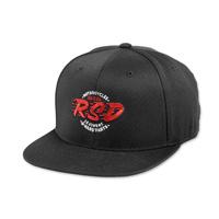 Roland Sands Design Speed Shop Black Cap