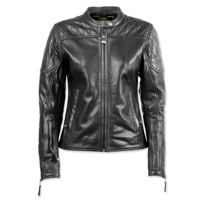 Roland Sands Design Women's Trinity Black Leather Jacket
