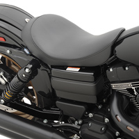 Drag Specialties Low Carbon-Fiber Weave Solo Seat