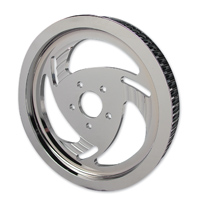V-Twin Manufacturing 1-1/2″ Wide 70-Tooth Chrome Billet Razor Rear Drive Pulley