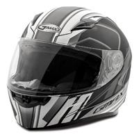 GMAX FF49 Rogue Matte Black/White Full Face Helmet