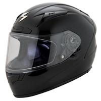 Scorpion EXO EXO-R2000 Gloss Black Full Face Helmet