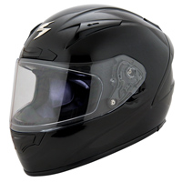Scorpion EXO EXO-R2000 Gloss Black Full Face Helmet