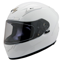 Scorpion EXO EXO-R2000 Gloss White Full Face Helmet