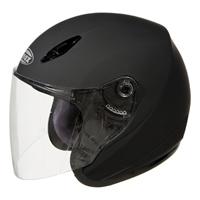 GMAX GM17 Flat Black Open Face Helmet