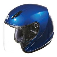 GMAX GM17 Blue Open Face Helmet