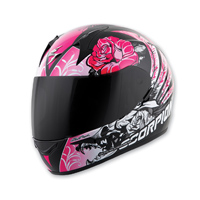 Scorpion EXO EXO-R410 Novel Pink Full Face Helmet