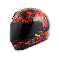 Scorpion EXO EXO-R410 Dr. Sin Red Full Face Helmet