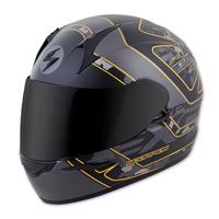 Scorpion EXO EXO-R410 Convoy Black/Gold Full Face Helmet