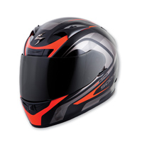 Scorpion EXO EXO-R710 Focus Red Full Face Helmet