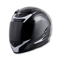 Scorpion EXO EXO-R710 Focus Silver Full Face Helmet