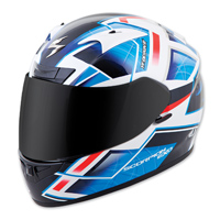 Scorpion EXO EXO-R710 Fuji Blue Full Face Helmet