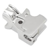Parts Unlimited Chrome Clutch Lever Bracket
